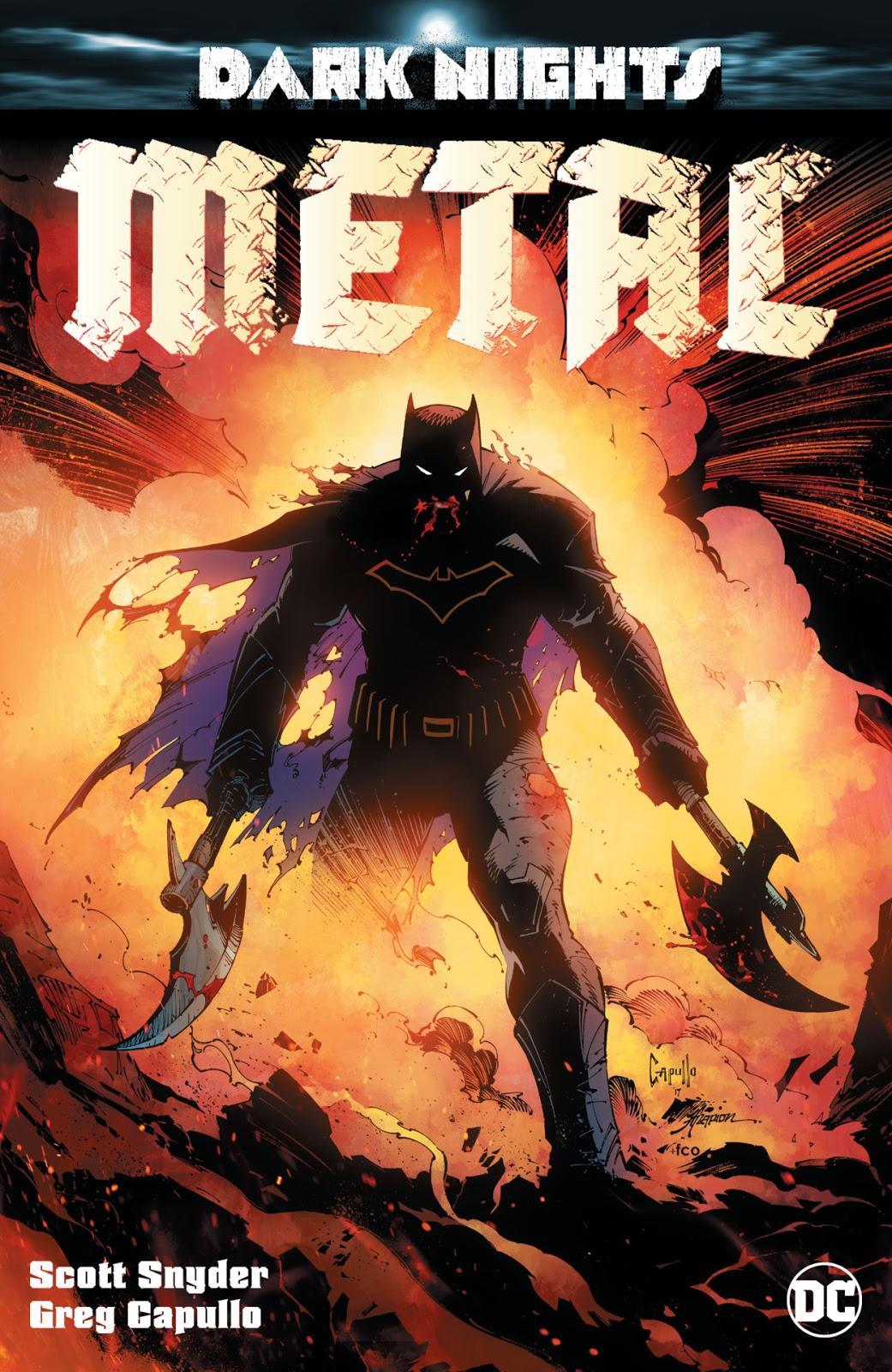 Foto de Batman no novo Evento da DC: Metal