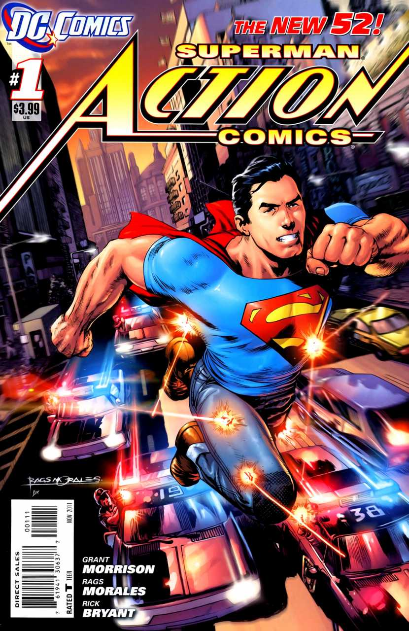 Foto de Review: Action Comics #01 – Superman contra a Cidade do Amanhã (Novos 52)
