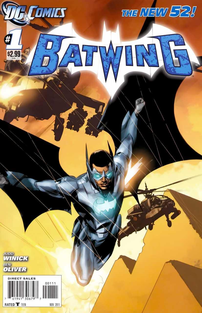 Foto de Review: Batwing #01 – O Berço da Civilização (Os Novos 52)