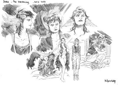 Foto de BILQUIS EVELY desenha THE DREAMING DO SANDMAN UNIVERSE, com YANICK PAQUETTE nas Capas