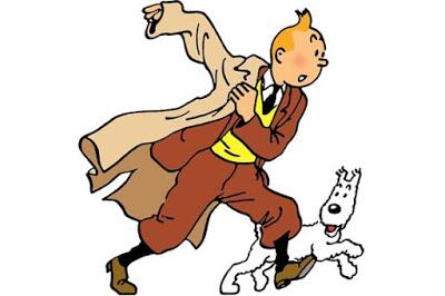 Foto de TINTIN de Hergé indo para Jogos Mobile