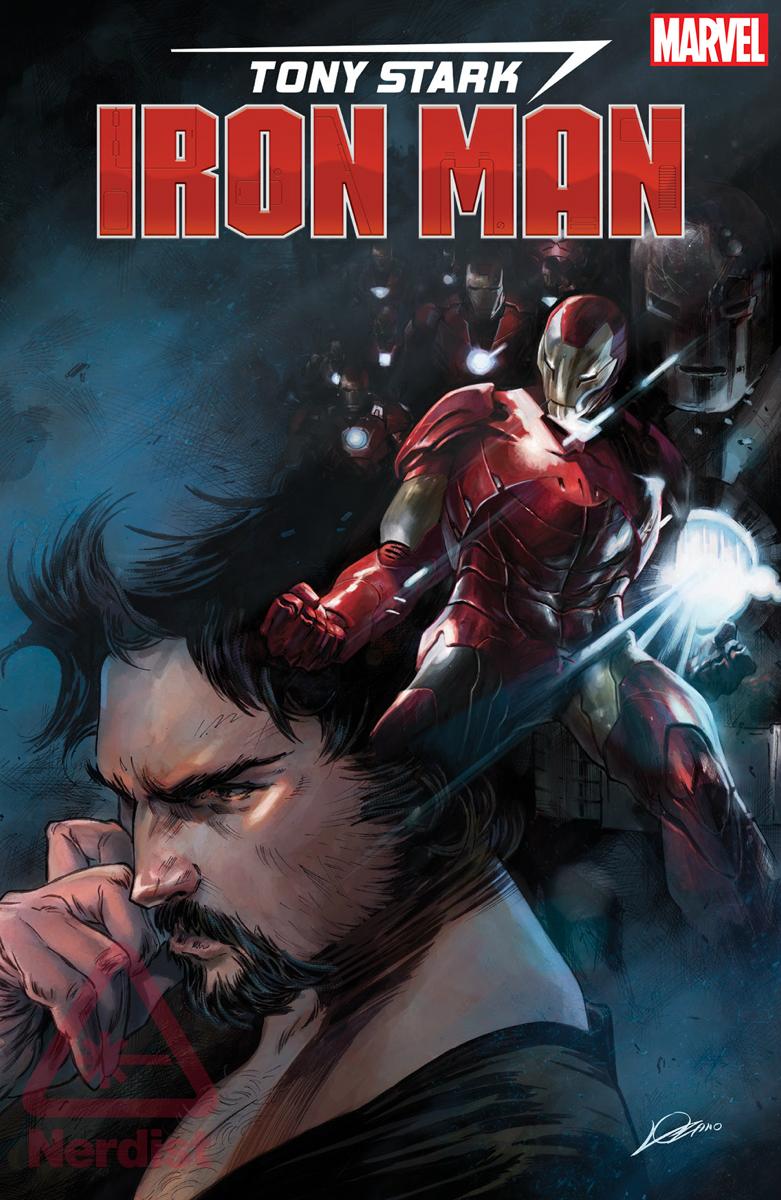 Foto de TONY STARK Luta (e Perde) no Concurso de Estilo de 'Guerras de Robôs' no Primeiro Homem de Ferro # 1