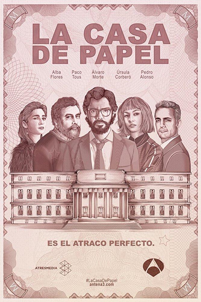Foto de Review: LA CASA DE PAPEL 1×06 – Episódio 6 (2017)
