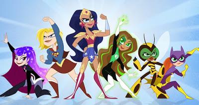 Foto de Primeira Imagem Redesenhado da DC SUPER HERO GIRLS Por Lauren Faust