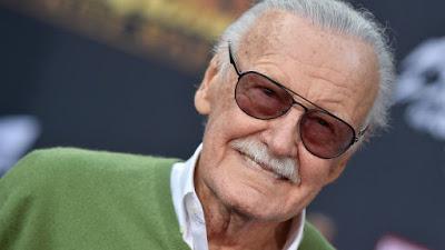Foto de STAN LEE a Lenda da Marvel Comics Morre aos 95 Anos