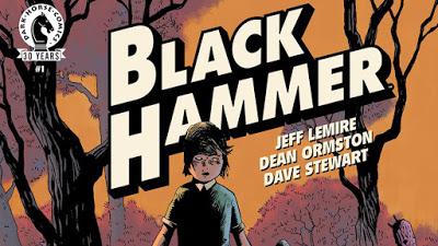 Foto de Filmes e Série de TV  de BLACK HAMMER em Desenvolvimento Pela Legendary