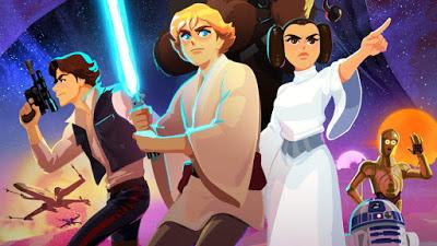Foto de Disney Lança uma Série Animada Digital de STAR WARS para Crianças