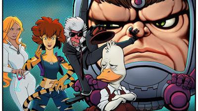 Foto de HOWARD O PATO Junto com Quatro Outros Shows Animados da Marvel Encomendados pela Hulu