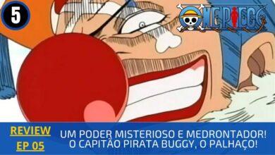 Photo of REVIEW: One Piece 1×05 – Um Poder Misterioso e Amedrontador! O Capitão Pirata Buggy, o Palhaço! (1999)