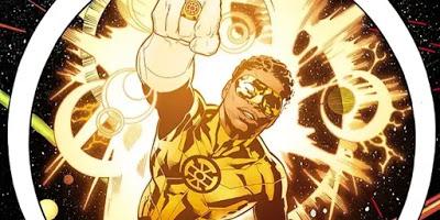 Foto de LANTERNA DOURADO Estréia na LEGIÃO DOS SUPER-HERÓIS da DC Comics
