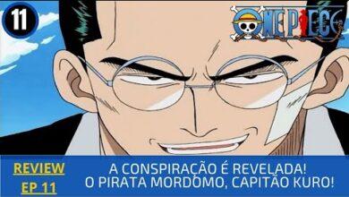 Foto de REVIEW: One Piece 1×11 – A Conspiração é Revelada! O Pirata Mordomo, Capitão Kuro! (2000)