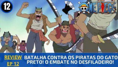 Foto de REVIEW: One Piece 1×12 – Batalha Contra os Piratas do Gato Preto! O Embate no Desfiladeiro! (2000)