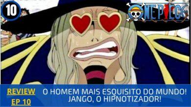 Foto de REVIEW: One Piece 1×10 – O Homem Mais Esquisito do Mundo! Jango, o Hipnotizador! (2000)
