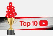 Foto de YouTube revela TOP 10 dos Vídeos mais assistidos em 2020 no Brasil